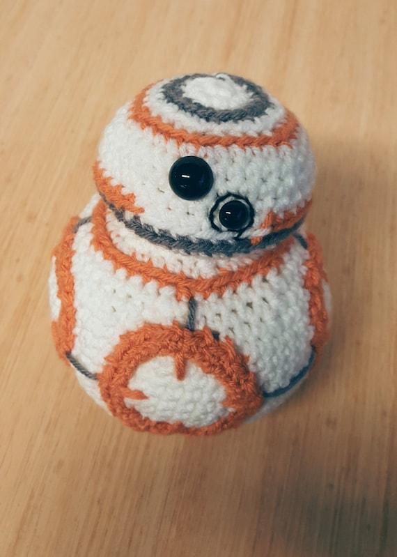 Free Star Wars Bb 8 Crochet Pattern : Crochet BB8 Droid from Star Wars