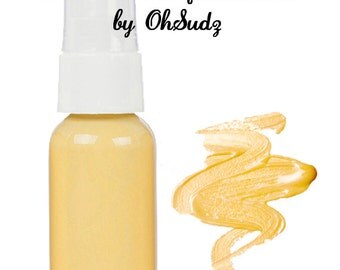 YELLOW Based - Mineral Foundation - Great for Rosacea and Acne Skin Types - You Choose The Shade
