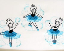 Unique curly  ballerinas embroidery outline designs / 4x4, 5x7 and 6x10, dancer embroidery designs, multiple sizes