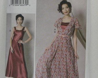 VOGUE Designer Dress Pattern, Kathryn Brenne Dress Pattern, VOGUE 9168 Dress Pattern, Resort Wear, Party Dress Pattern, SZ 6 through 14