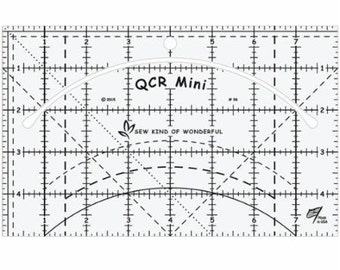 Quick Curve Ruler Mini SKW QCRMINI by Sew Kind of Wonderful