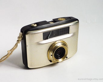 Vintage Half-frame Camera Penti II / Film Camera 60s / Working Camera