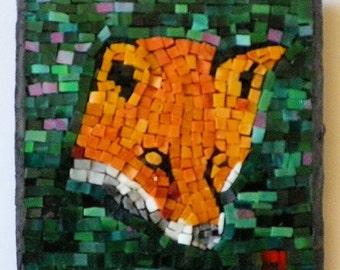 Red Fox Mini Mosaic GHBDH