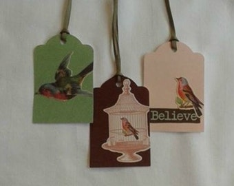 Believe Gift Tag Set... Set of 3