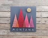 Montana Mountains String and Nail Art  - Bozeman | Missoula | Billings | Helena | Yellowstone