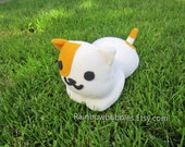 "7"" Fanplush of Peaches from Neko Atsume Cat Collector"