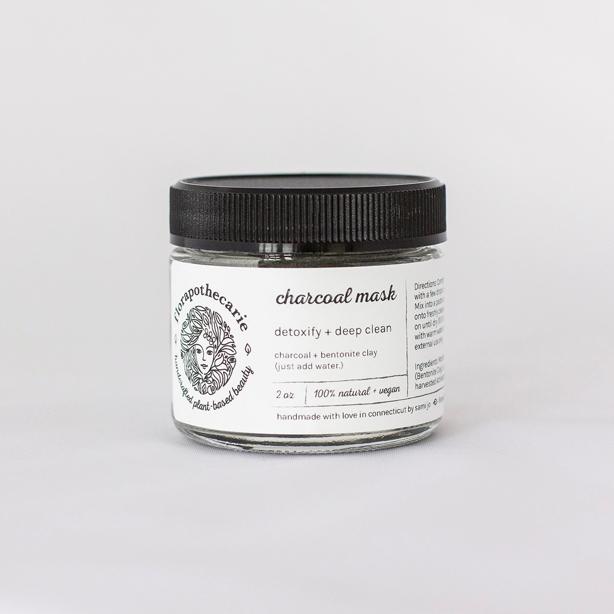 Detox Your Skin With This Diy Charcoal Mask: Charcoal Facial Mask All-natural Detoxify Cleanse