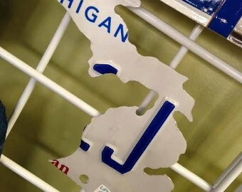 "6"" Magnet Shape of Michigan License Plate"