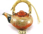 Company Over?...Pull Out this Large Shino Teapot