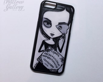 Ouija Phone Case by Lupe Flores