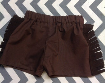 Shorts to Coordinate with Cowboy Vest/Bow Tie Onesies for baby or toddler boy