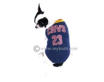 Michael Jordan 23 Dog Shirts NBA Chicago Bulls Pet by myknitt