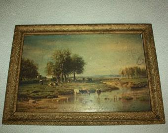 1869 Picture - Vintage Retro - Russian