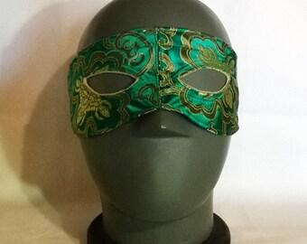 El Oriental Masquerade Wrestling Mexican Lucha Libre style Halloween Mardi Gras Horror half face mask pride parades mask