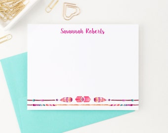 Bohemian Stationery, Boho Stationery, Personalized Stationery, Custom Stationery, Stationary Personalized, Stationary Cards, PS051