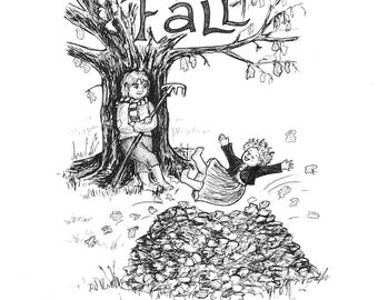SOON DISCONTINUED- Four Seasons: Fall Print (11x14)
