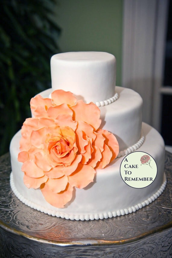 Large Gumpaste Flower For Wedding Cakes Edible