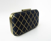 bridesmaids gift, navy and gold, navy weddings, gold weddings, clutches, clutch for bridesmaids, wedding gifts, personalized gifts