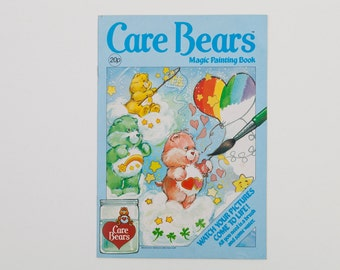 Care Bears Magic Painting Book (Paint with Water Book) 1986