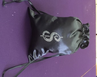 Extra Large Custom Made Money Bag Dollar Dance For Bride with Script  Money Sign
