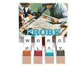 1964 Probe 1960s Vintage Parker Bros Games Word Play Game Logophile Game Of Words Alphabet Cards Spelling Words