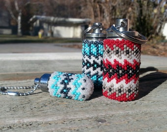 Fathers Day LDS Oil and Pill Vials with a touch of Native Design