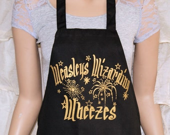 Weasleys Wizarding Wheezes - Harry Potter Cosplay Black Apron MTCoffinz
