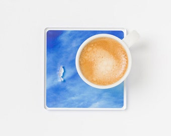 A Piece of Sky - Coffee Cup Coaster Unique Design Gifts for Coffee Tea Lovers Home Table Décor