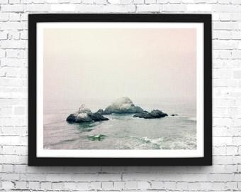 Beach Print, Beach Decor, Ocean Print, Ocean Waves, Sea Photo, Beach Art Print, Beach Art, Beach Poster, Waves, Coastal Print, Coastal Decor