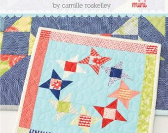 Thimble Blossoms Round and Round Mini Quilt Sewing Pattern Moda Bonnie and Camille