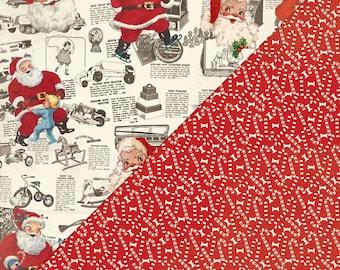 """Authentique Paper """"Retro Christmas"""" Paper Set"""