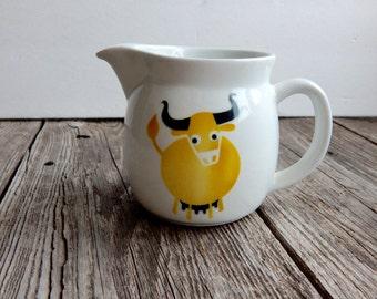 Kaj Franck Arabia Creamer horned yellow cow
