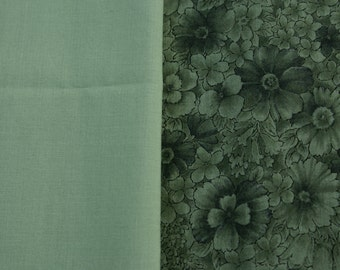 1/2 Yd & 7/8 Yd Two Piece Cotton Fabric  Set