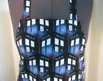 Dr Who Adult Apron