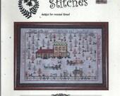 Praiseworthy Stitches: Kringle's Christmas Tree Farm (OOP) - a Down the Lane Cross Stitch Pattern
