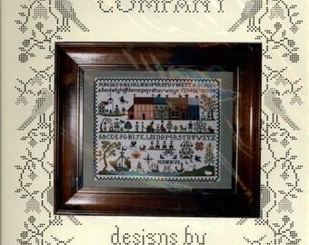 The Sampler Company: New England Sampler - a Brenda Keyes Cross Stitch Pattern