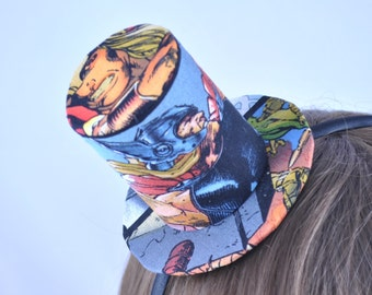 The Avengers - Thor. Positive Hatitude - mini top hat
