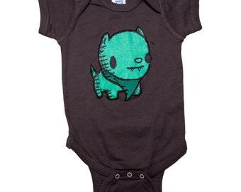 puppy baby clothes, puppy baby apparel, dog infant jumper, puppy romper, baby apparel, baby shower gift, baby gift, onesie