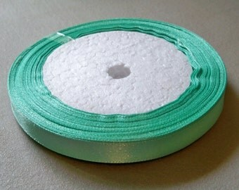 """Mint Green Satin Ribbon-3/8""""-10mm-#R024"""