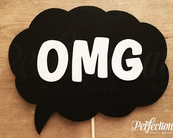 OMG Photo Booth Prop | OMG Sign Prop