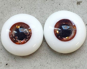 16mm urethane eyes Bronze with silver dust
