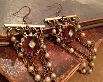 Antique Assemblage Earrings