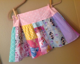 Every Princess skirt- 5t, 6, 6x, maybe 7 ready to ship - Belle, Cinderella, Disney, Snow White,