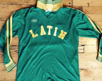 Vintage long sleeve jersey Latin 22 large
