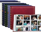 Large photo album plus 1 pack of refills