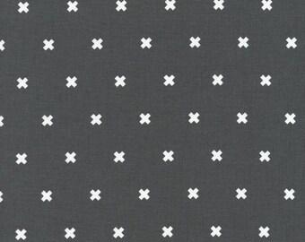 XOXO in #2 Pencil, Cotton+Steel Basics, Rashida Coleman Hale, RJR Fabrics, 100% Cotton Fabric, 5001-011