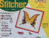 50% OFF The Cross Stitcher  AUGUST 1996 - Counted Cross Stitch Pattern Magazine - From Crafts 'n Things
