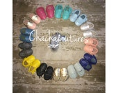 100% genuine leather baby moccasins Mocs moccs