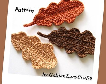 Oak Leaves Crochet Pattern
