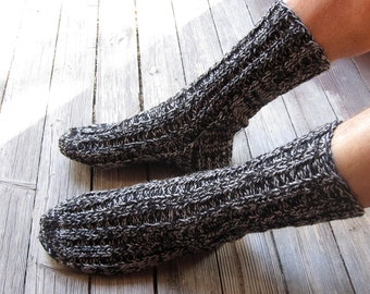 hand knit wool socks, Men Socks, Women Socks,